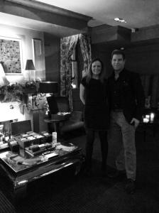 Ryan Palmer and Karlie Simmonds