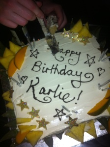 My beautiful cake made by my beautiful friend friend Juliet